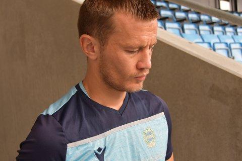 Ståle Stålinho Sæthre har hatt et tett forhold til hovedtrener Steffen Landro. Spilleren som kom fra Aalesund i år har tidligere spilt under Landro i det som tidligere het Nest-Sotra.