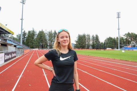 Ingrid Ingebrigtsen (15) fra Lura er spent og klar til helgens junior-NM.