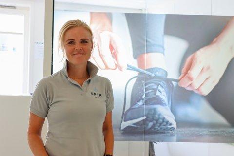 Lillian Eiane Skretting er HMS-rådgiver, fysioterapeut, bedrifts og helseveileder og som medeier i SPIR Helse opplever hun nå stor pågang av koronatesting.