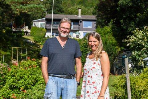 Torstein og Bodil ante ikke hvor mye jobb som ventet dem da de overtok huset på Lutsi i 2006. Det ble mange timer og år med arbeid på begge to.