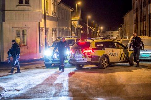 Politiet lette i natt etter gjerningspersonen i Sarpsborg