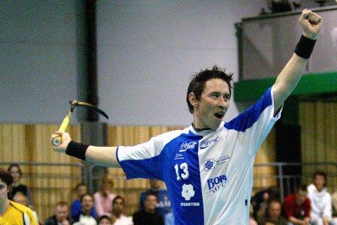 TRENER: Den tidligere spilleren Daniel Holmberg er ansatt som ny hovedtrener for A-laget til Sarpsborg Sharks. Foto: Johnny Helgesen