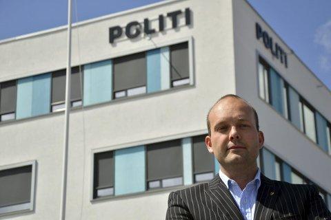 KAMP OM HOVEDSETE: Sarpsborg-ordfører Sindre Martinsen-Evje er klokkeklar på at hovedsetet til det nye politidistriktet bør være på Grålum, og vil kjempe for at det skjer.FOTO: PETTER KALNES