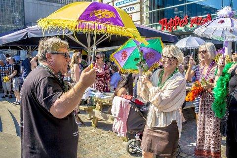 EN FEST: – Robert Normann-festivalen har gått over all forventning i år, også økonomisk, sier Bjarne S. Aaserød. foto: tobias nordli