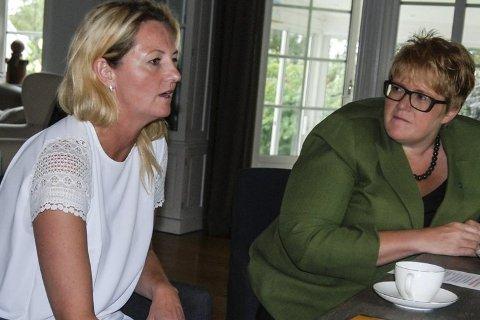NYSTARTET: Margrethe Motzfeldt, Lene Thorsen og Trine Skei Grande mener alle det må bli lettere for gründere i framtiden.