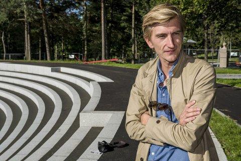 GRUNNLEGGER:  Hans Petter Haaland er mannen som hadde ideen til Sarpsborgfestivalen. I år setter korona-viruset en stopper for  festivalen.