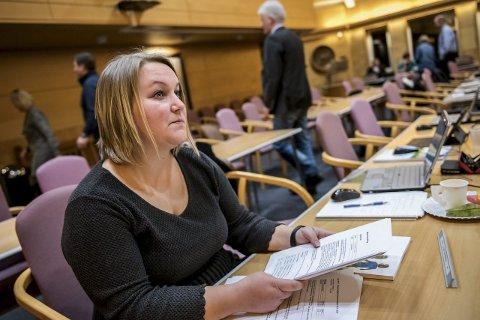 BALLONGFRI: Venstres Margrethe Motzfeldt har oppfordret de andre politiske partiene til å bli med på en ballongfri valgkamp.