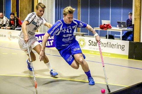 VM KLARE: Martin Isnes Kvisvik (bak) og Patrick Hjemgård var med og bidro sterk til at det ble VM. Foto: Tobias Nordli