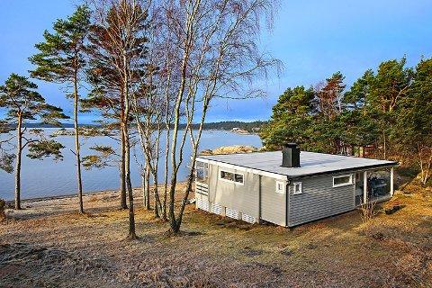 FLOTT BELIGGENHET: Beliggenheten til hytta som er til salgs på Ørnekuppa vil garantert friste potensielle hyttekjøpere.