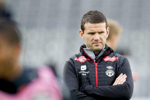 SLUTTER: Eirik Bakke gir seg som trener i Sogndal etter sesongen.