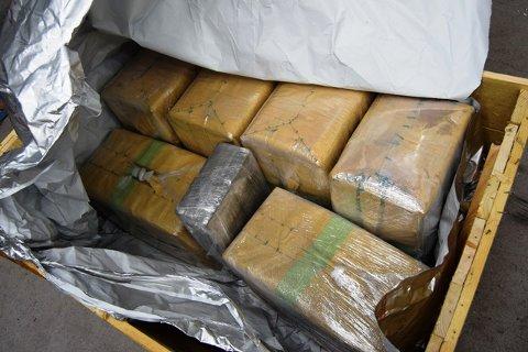 Tollerne fant 100 kilo hasj i lastebilen den polske statsborgeren førte.