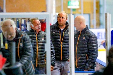 BLIR SPLITTET: Lenny Eriksson, Jonas Elofsson og Sten Gunnar Jørgensen.