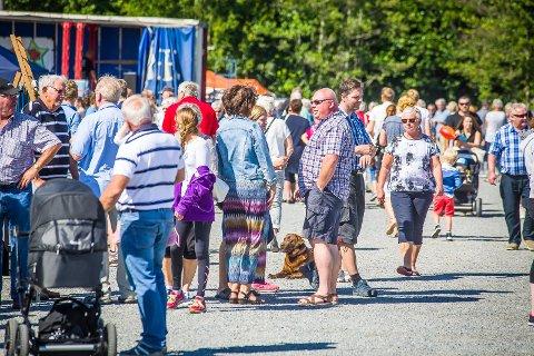 Folkefest: I fjor var plassen til Skjebergkilens Marina fylt til randen av glade mennesker. Ullerøydagen trekker flere tusen folk, år etter år.