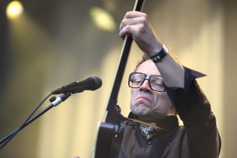 Jarle Bernhoft imponerte publikum på Sarpsborgfestivalens første dag.