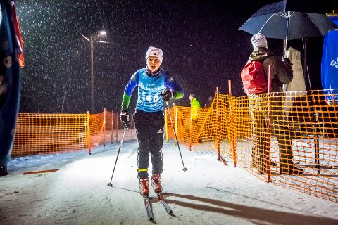 I MÅL: Knut Olav Fredheim Somonsen (10) fra Grålum kommer inn over målstreken tirsdag kveld.