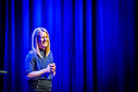 FRYDER SEG: Malin Schavenius gledet seg enormt for å offentliggjøre hva barna og ungdommene i Villekulla skulle spille i 2017 og 2018.