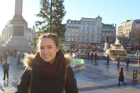 LONDON: 17-åringen Mathilda Berg fra Villekulla barne- og ungdomsteater tilbrakte romjulen i London, hvor hun deltok på workshopen til «Spirit Young Performance Company», som er en scenekunst skole.