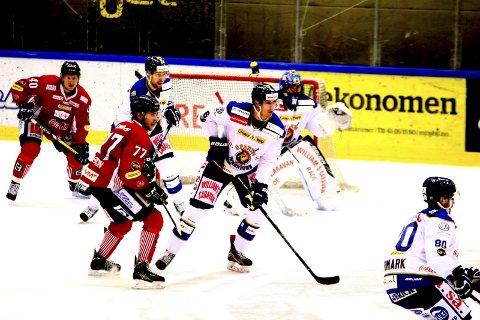 Simon Fredriksson spilte sin første kamp for Sparta, men han og de andre spillerne måtte reise hjem med tap etter oppgjøret på Lillehammer. (Foto: Dagfinn Heidenberg)