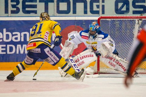 MÅ STÅ OVER: Samuel Ward må stå over kveldens semifinale.