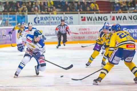 SPILLER IGJEN: Håkon Imset Stormli spilte ikke semifinalekampen i Stavanger lørdag. I kveld er han tilbake på isen.