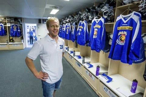 PENGER: Kaptein Niklas Roest synes det er fint at Sparta kan vise sin støtte til Mats Hildisch.