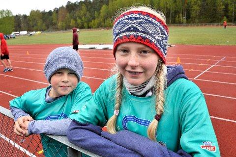 VARTINGER: Sindre Nicokay Bakkinget og Marie Sofie Gundersen.