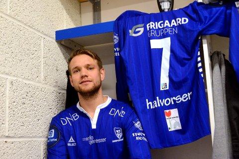 Ole Jørgen Halvorsen drømmer om å score seiersmålet mot gamleklubben når de to møte i fjerde runde av cupen.