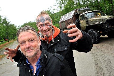 ALT PÅ PLASS: Ole Dørje og Art Ranger er klare for årets forsommer på Soli Brug.