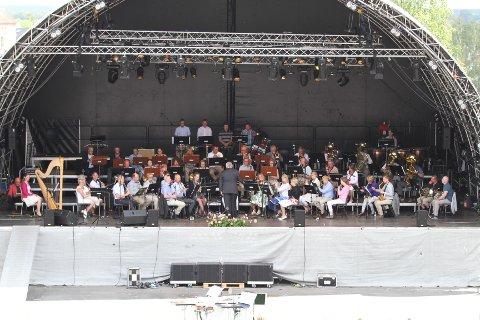 SOMMERKONSERT: Sarpsborg Janitsjarkorps inviterer til sin tradisjonsrike sommerkonsert i Kulås Amfi lørdag klokken 12.00.