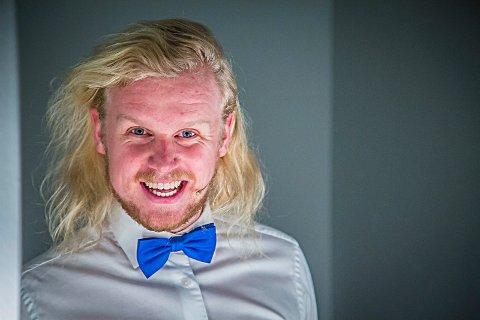 TALENTFULL: Patrik Stenseth (28) fikk tittelen Østfoldtalentet under Østfoldkonferansen i 2016.