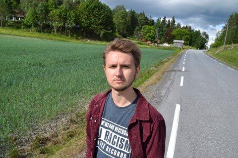 Freddy Øvstegård, førstekandidat for Østfold SV. (Foto: Trine Bakke Eidissen)
