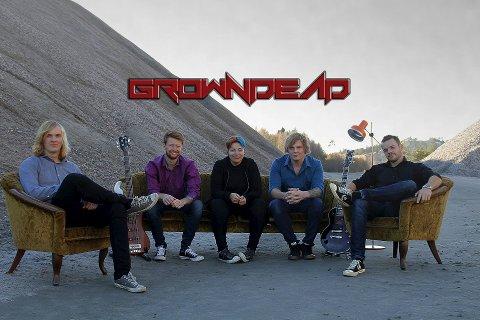 Lokal alternativ rock: Growndead fikk mye oppmerksomhet rundt sin deltakelse på Norske talenter på TV2.