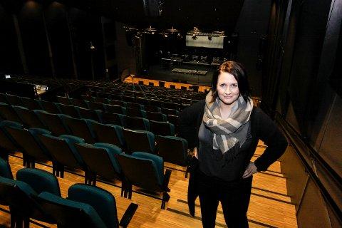 Tidlig på banen: Therese Thorbjørnsen, utvalgsleder for kultur og oppvekst i Sarpsborg kommune, er tidlig på banen og ønsker å lokalisere Østfoldteateret i Sarpsborg.