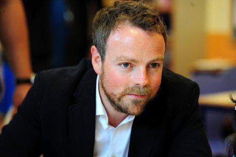 Oslo  20140805. Kunnskapsminister Torbjørn Røe Isaksen besøkte Sommerskolen i Oslo på Tøyen tirsdag.  Foto: Vidar Ruud / NTB scanpix
