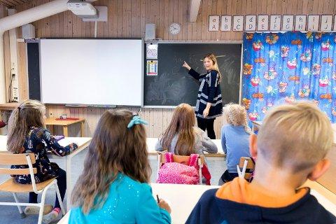 NASJONALE PRØVER: Nå kan du se hvordan din barneskole scorer i lesing, regning og engelsk.