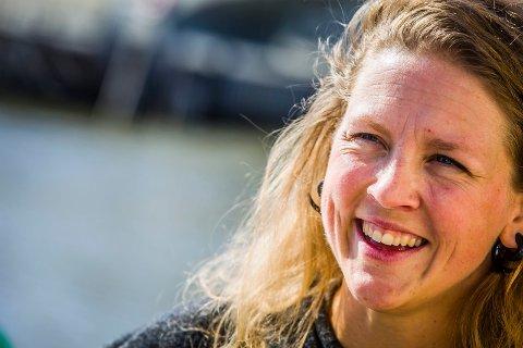 KAN VINNE PRIS: Marinebiolog Pia Ve Dahlen fra Opsund kan vinne gjev pris i november.