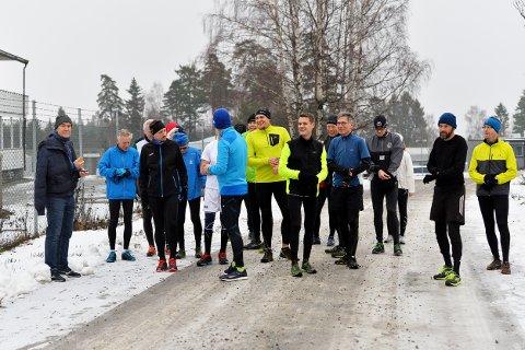 TUNGT: Det var tungt og vanskelige forhold i Torsdagsløpet denne gangen.