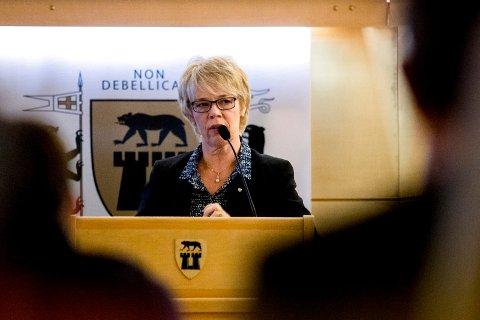 SIER NEI: Rådmann Unni Skaar mener ikke det blir riktig at kommunen skal ta i mot flere flyktninger i år.