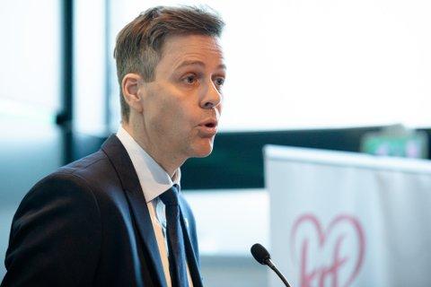 KrFs partileder Knut Arild Hareide.