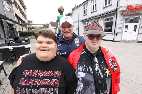 Festivalklare: Veslemøy Lied, Kai Robert Johansen og Tore «Elvis» Kristiansen blir sentrale under FÅRT-festival i sentrum 2. juni.
