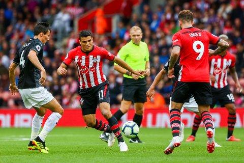 FRA START: Mohamed Elyounoussi har vært i Southamptons førsteellever i de tre siste kampene.