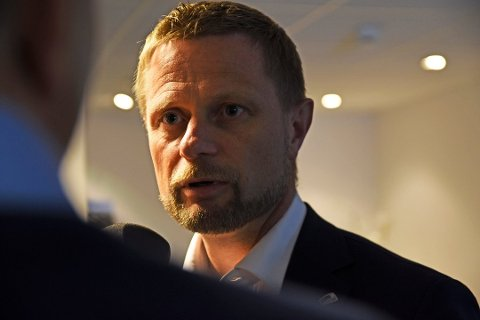 Helseminister Bent Høie (H). (Foto: Rune Stoltz Bertinussen, NTB Scanpix)