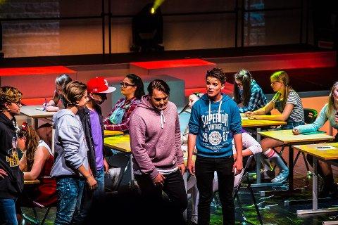 NORGESPREMIEREN: I 2016 hadde ungdomsmusikalen «Thirteen the Musical» norgespremiere på Sarpsborg scene. I mars 2019 gjør Diorama forestillingen på nytt.