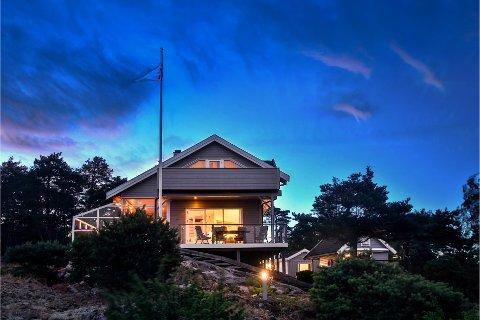 SOLGT RASKT: Denne hytta på Karlsøy ble solgt lynraskt.