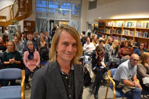 Bokaktuell: Sarping og psykolog Peder Kjøs er ute med boken «Berøring».