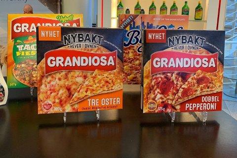 NYE GRANDIOSAER: Orkla lanserte nye Grandiosaer mandag.