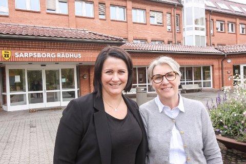 Har en plan: Kulturutvalgsleder Therese Thorbjørnsen (til venstre) og Gøril Eilertsen (H), saksordfører for kommunedelplan for kultur, er begge glade for at de nå har klare føringer på at kultur skal få en sentral rolle i utviklingen av Sarpsborg.