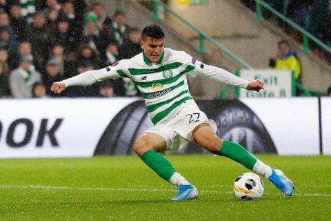 Mohamed Elyounoussi har fått prisen som månedens spiller i skotsk eliteserie fotball.
