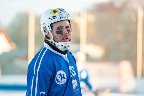 TAP: Anders Olsson scoret for SBK i onsdagens kamp mot Ready, men seriemesterne ble et nummer for store for sarpingene.