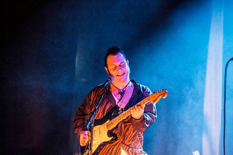 Bluesaften: Vidar Busk spiller under Glengfestivalen fredag 21. juni.